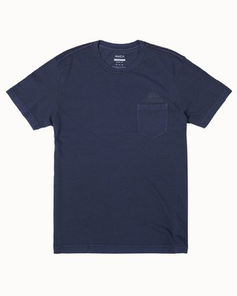 0 DAWNED SHORT SLEEVE T-SHIRT Blue M4372RDA RVCA