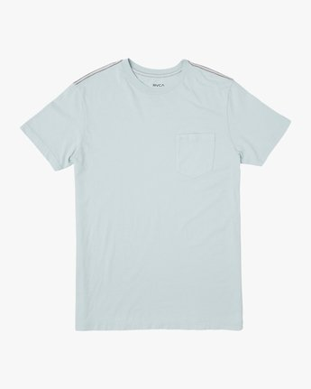 0 PTC 2 Pigment T-Shirt Blue M437TRPT RVCA