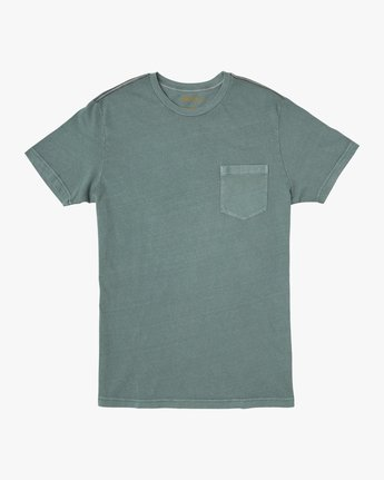 0 PTC 2 Pigment T-Shirt Green M437TRPT RVCA