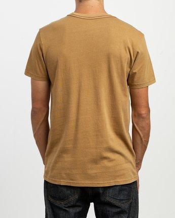 3 PTC 2 Pigment T-Shirt Brown M437TRPT RVCA
