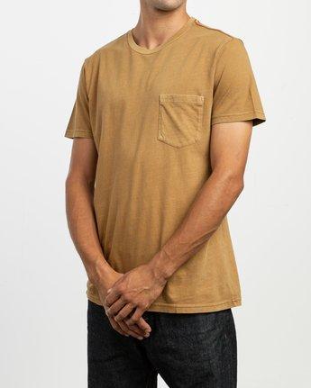 2 PTC 2 Pigment T-Shirt Brown M437TRPT RVCA