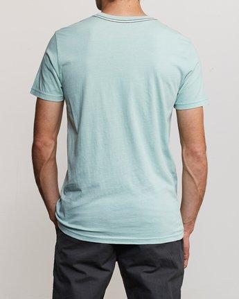3 PTC 2 Pigment T-Shirt Blue M437TRPT RVCA