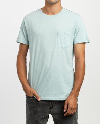 1 PTC 2 Pigment T-Shirt Blue M437TRPT RVCA