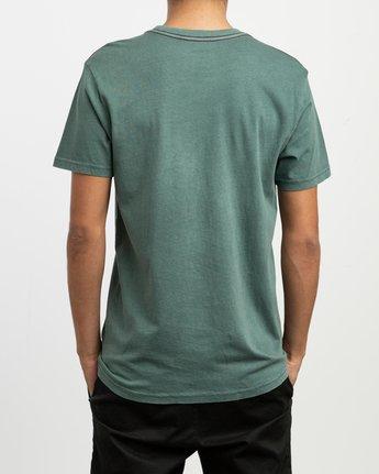 3 PTC 2 Pigment T-Shirt Green M437TRPT RVCA