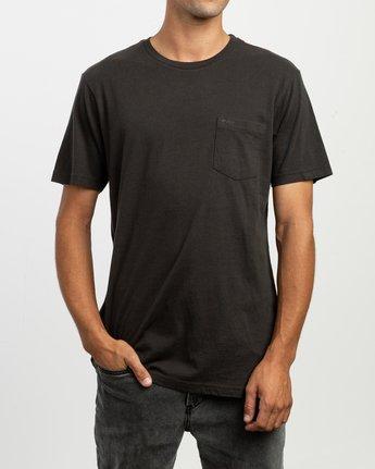 1 PTC 2 Pigment T-Shirt Black M437TRPT RVCA