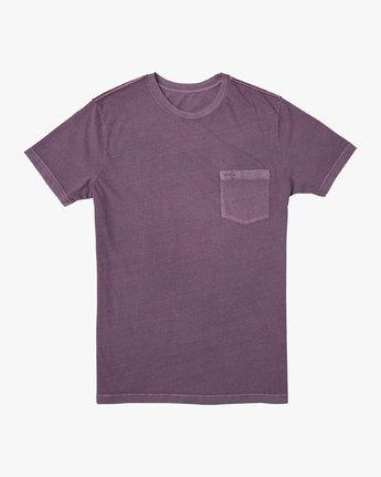 0 PTC 2 Pigment T-Shirt Purple M437VRPT RVCA