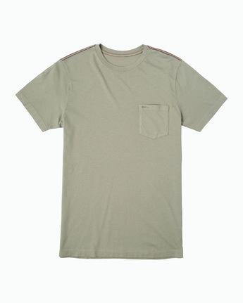 0 PTC 2 Pigment T-Shirt Green M437VRPT RVCA