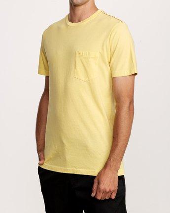 2 PTC 2 Pigment T-Shirt Yellow M437VRPT RVCA