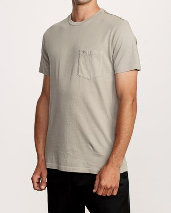 2 PTC 2 Pigment T-Shirt Green M437VRPT RVCA