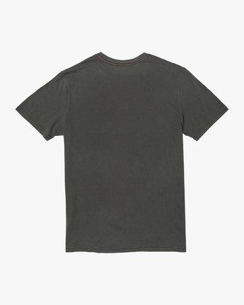 1 INDUSTRIAL VALLEY SHORT SLEEVE T-SHIRT Black M4383RIN RVCA