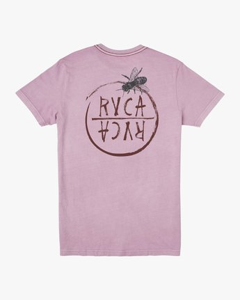 0 Ben Horton Hivemind T-Shirt Purple M438TRHI RVCA