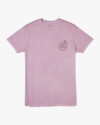 1 Ben Horton Hivemind T-Shirt Purple M438TRHI RVCA