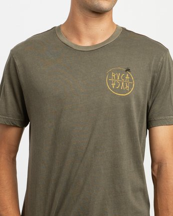 5 Ben Horton Hivemind T-Shirt Green M438TRHI RVCA