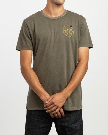 2 Ben Horton Hivemind T-Shirt Green M438TRHI RVCA