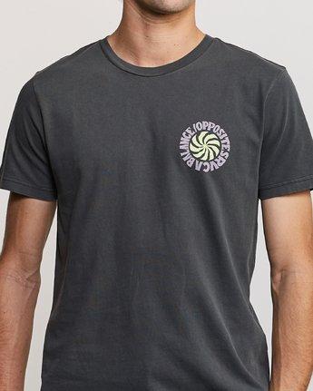 5 DMOTE Rvcafied T-Shirt Black M438URRV RVCA
