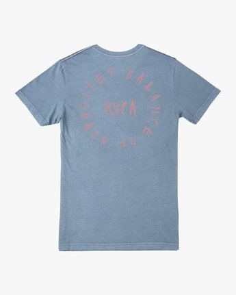 0 Hortonsphere T-Shirt Blue M438VRHO RVCA