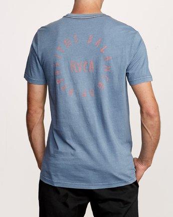 4 Hortonsphere T-Shirt Blue M438VRHO RVCA