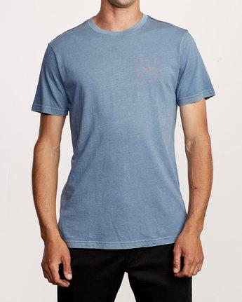 2 Hortonsphere T-Shirt Blue M438VRHO RVCA