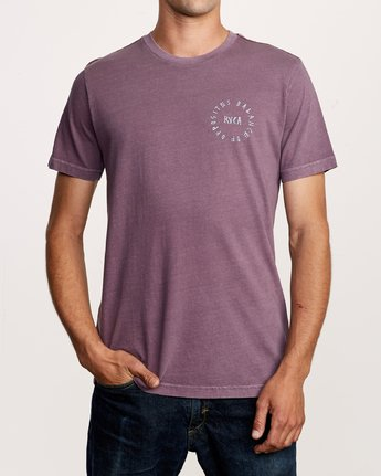 2 Hortonsphere T-Shirt Purple M438VRHO RVCA