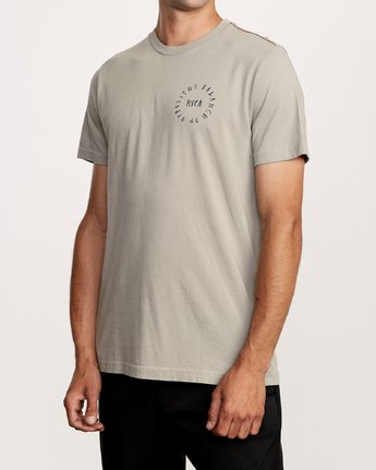 3 Hortonsphere T-Shirt Green M438VRHO RVCA