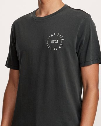 5 Hortonsphere T-Shirt Black M438VRHO RVCA
