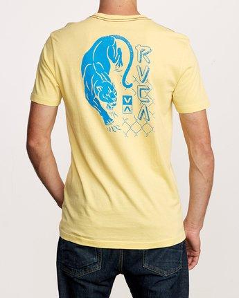 4 Prowler T-Shirt Yellow M438VRPR RVCA