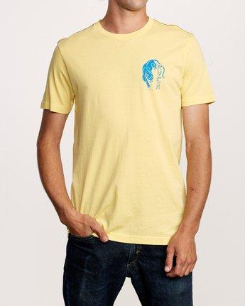 2 Prowler T-Shirt Yellow M438VRPR RVCA