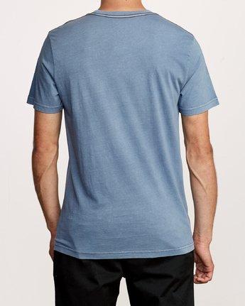 3 Ben Horton Snarl T-Shirt Blue M438VRSN RVCA