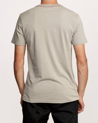 3 Ben Horton Snarl T-Shirt Green M438VRSN RVCA