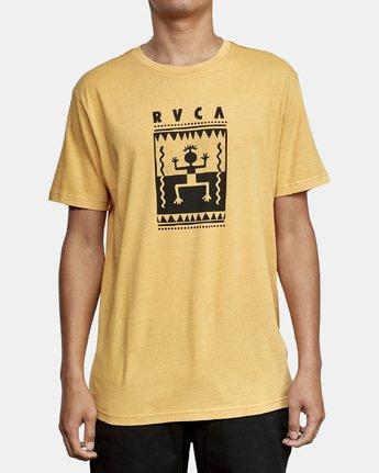 1 Mowgli Opium T-Shirt Red M438WROP RVCA