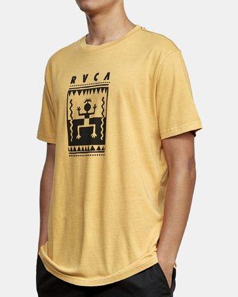 2 Mowgli Opium T-Shirt Red M438WROP RVCA
