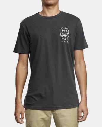 2 Yamamoto T-Shirt Black M438WRYA RVCA
