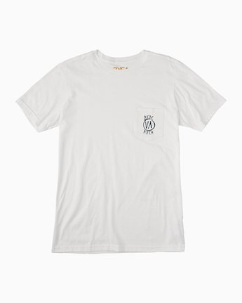 1 Ben Horton Stack KCDC Pocket T-Shirt  M439NRSM RVCA
