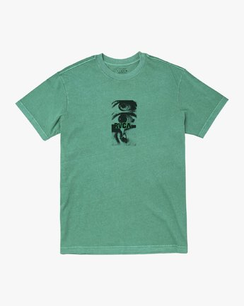 0 EYES T-SHIRT Green M4411REY RVCA