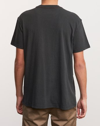 3 Alex Knost Foam T-Shirt Black M441URFO RVCA