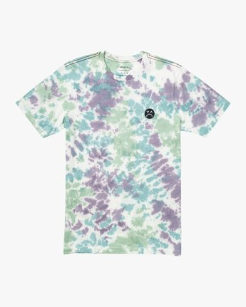1 Happy Sad Tie Dye T-Shirt  M446VRHS RVCA