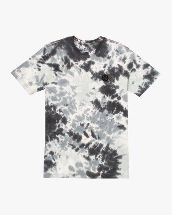 1 Happy Sad Tie Dye T-Shirt Black M446VRHS RVCA