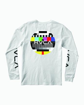 1 TESTING LONG SLEEVE T-SHIRT White M4511RTE RVCA