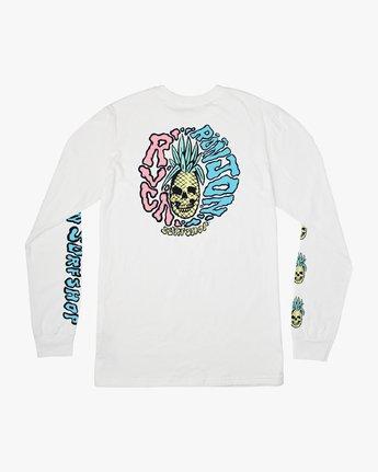 0 Psycho Long Sleeve T-Shirt  M451PRPF RVCA