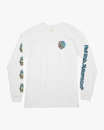 1 Psycho Long Sleeve T-Shirt  M451PRPF RVCA