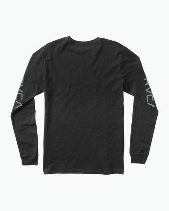 1 RVCA ANP Long Sleeve T-Shirt  M451SRRV RVCA