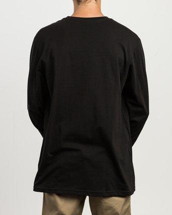 4 RVCA ANP Long Sleeve T-Shirt  M451SRRV RVCA