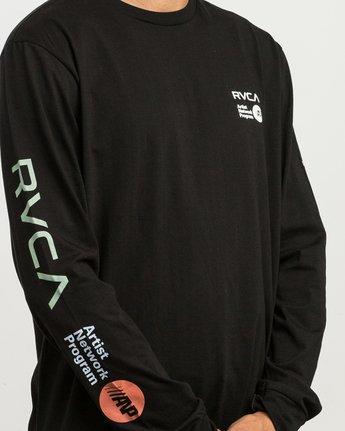5 RVCA ANP Long Sleeve T-Shirt  M451SRRV RVCA