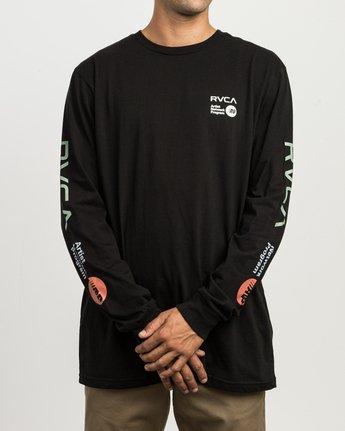 2 RVCA ANP Long Sleeve T-Shirt  M451SRRV RVCA