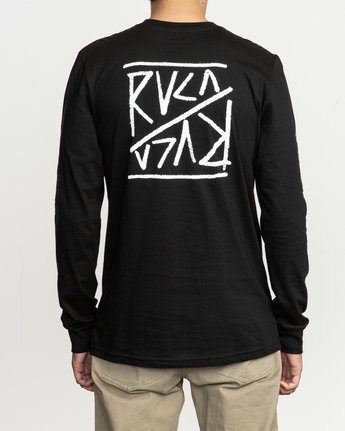 4 Flipper Long Sleeve T-Shirt  M451TRFL RVCA
