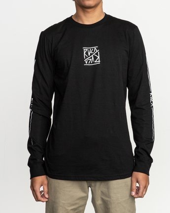 2 Flipper Long Sleeve T-Shirt  M451TRFL RVCA