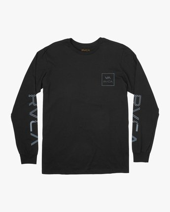 0 Segment Long Sleeve T-Shirt Black M451TRSE RVCA