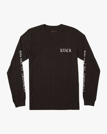 1 Suzuki Beware Long Sleeve T-Shirt Black M451URBE RVCA
