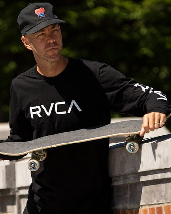 1 BIG RVCA LONG SLEEVE TEE  M451URBI RVCA