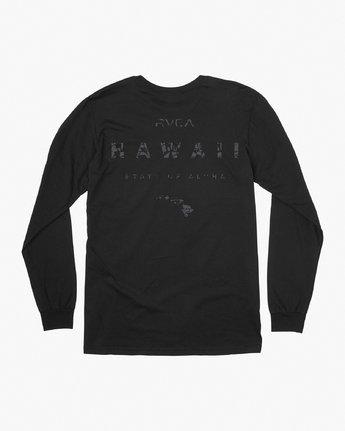 0 Da Aina Sphere Long Sleeve T-Shirt Black M451VRDA RVCA